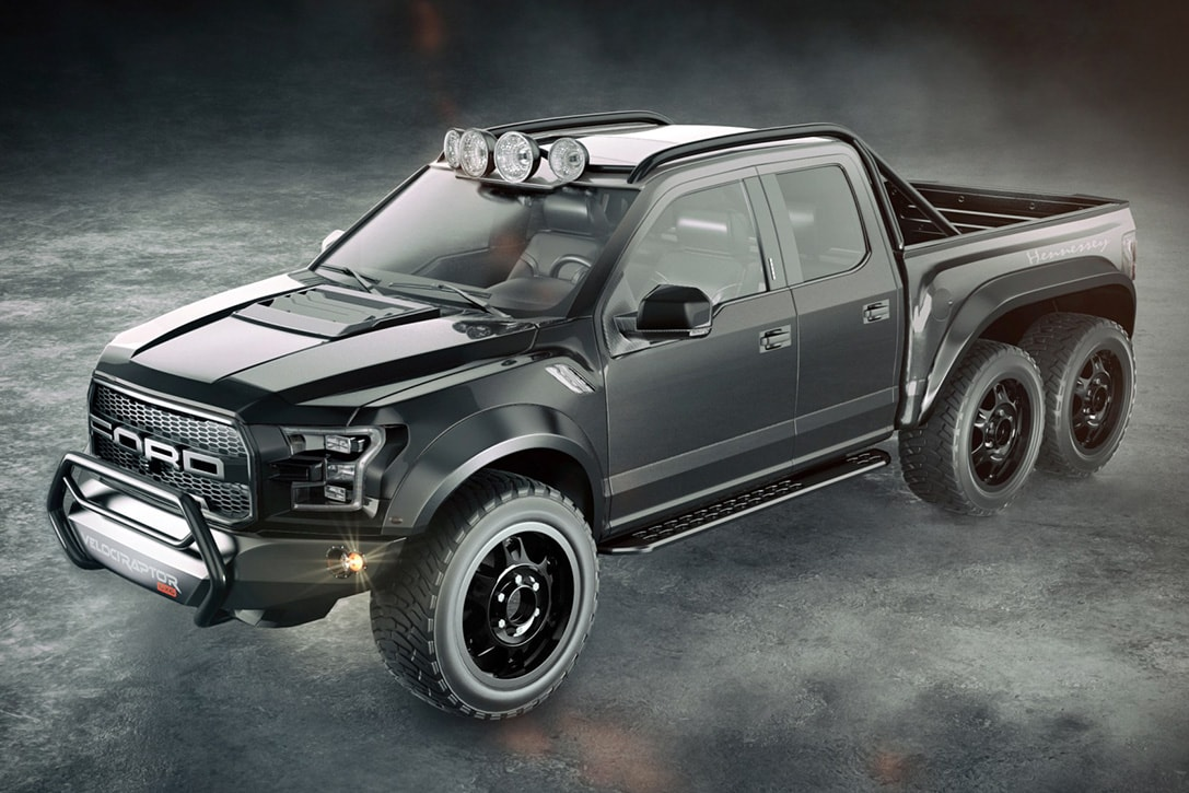 Camioneta pick up Ford VelociRaptor 6x6 por Hennessey Performance