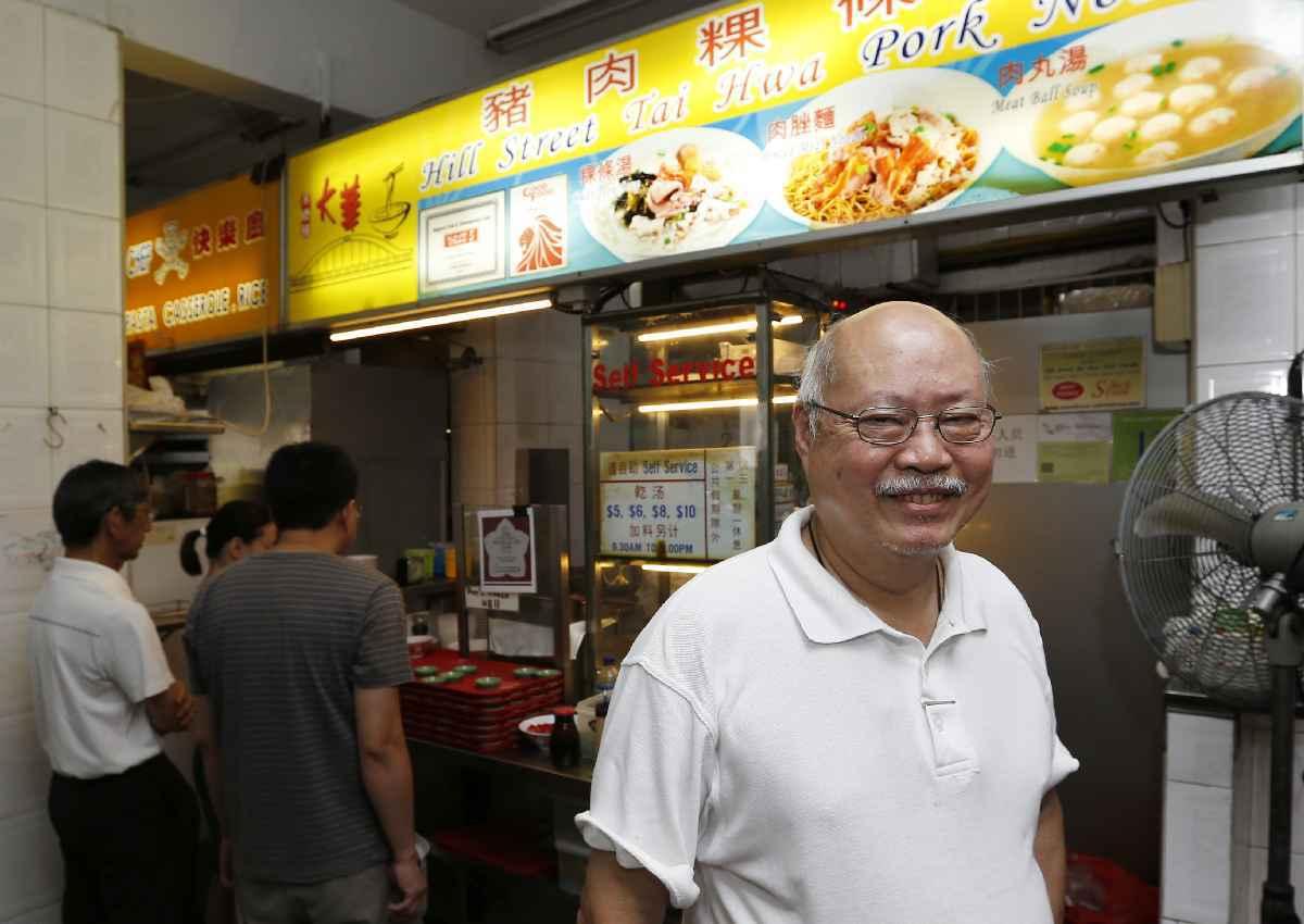 Hill Street Tai Hwa Noodle. El primer Street Food con estrella Michelín
