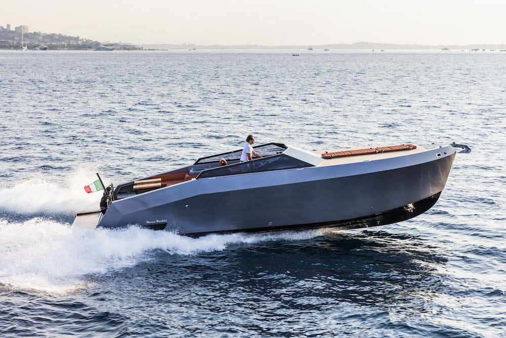 Mazu 38: Astillero turco presenta esta embarcación 'Tender' en el Salón Náutico de Mónaco
