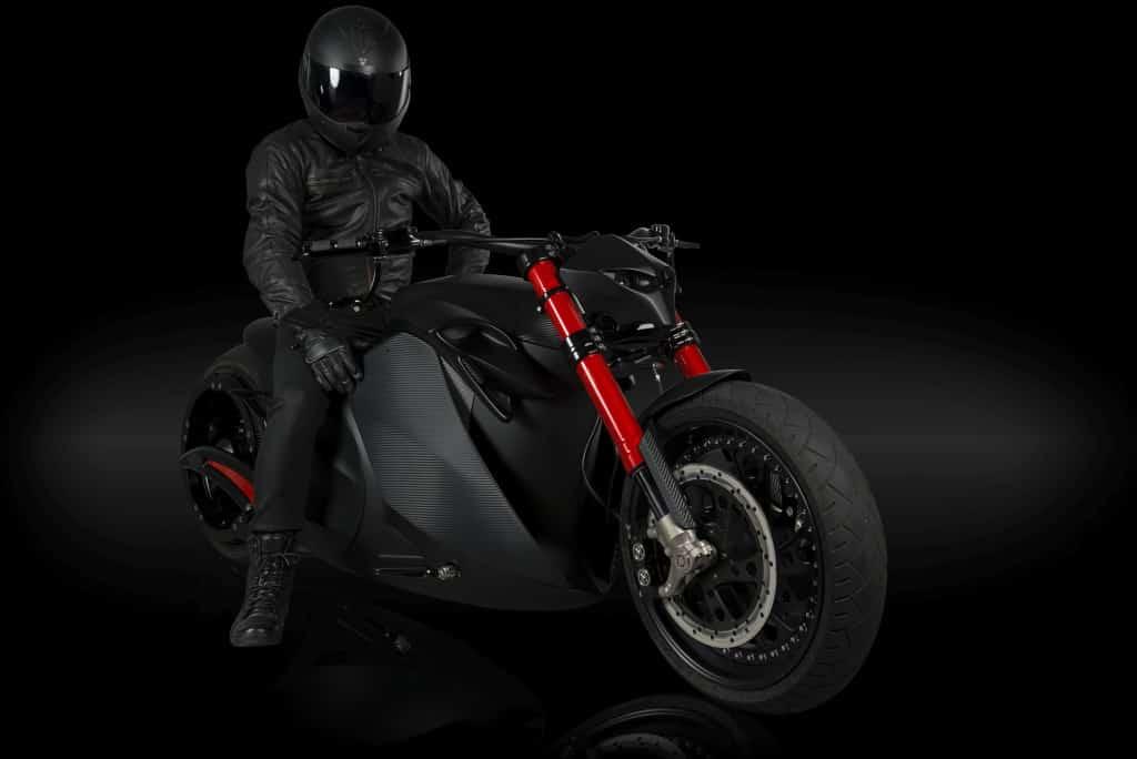 Zvexx: Una moto eléctrica súper poderosa con un diseño demoledor