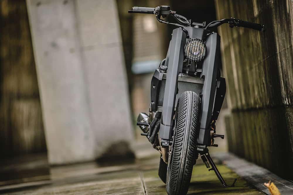 "Rough Crafts presenta esta bestial Yamaha MT-07 ""Onix Blade"""