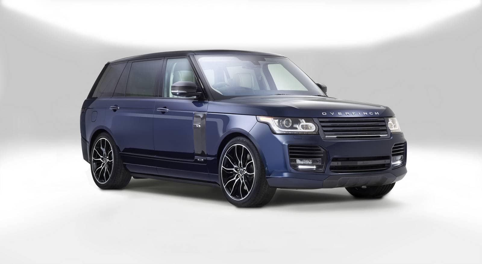 """El SUV Range Rover """"London Edition"""" de Overfinch es súper exclusiva y costosa"""