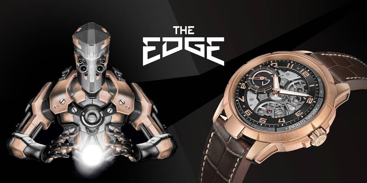 Edge Double Barrel: Armin Strom presenta un nuevo reloj en oro rosado de 18 quilates