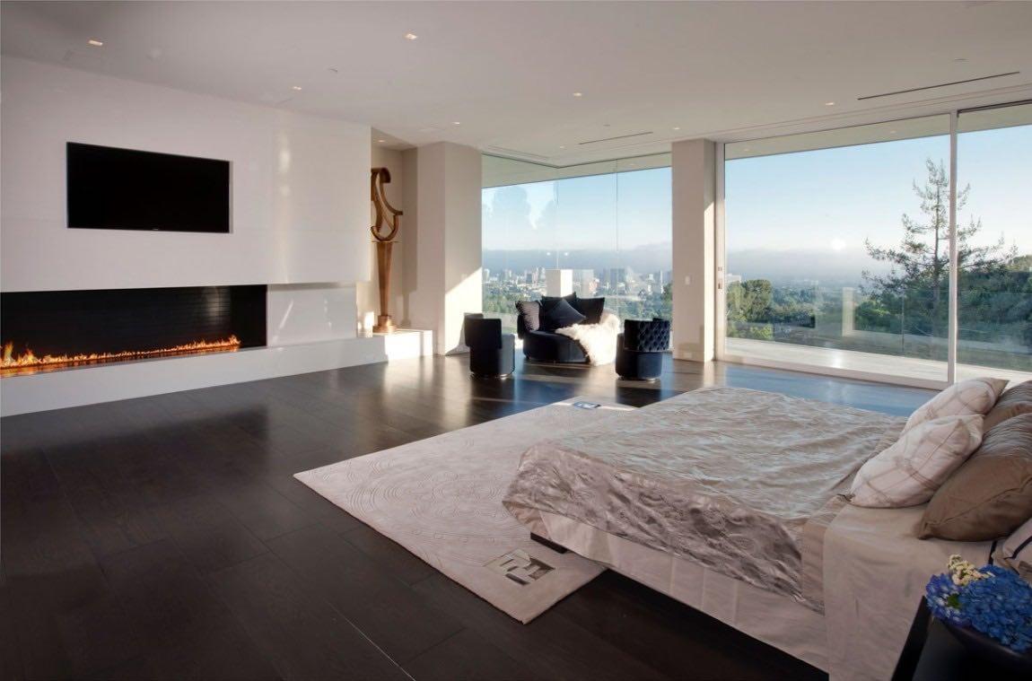 Tienes que ver esta ultra moderna residencia en Bel air, California por McClean Design
