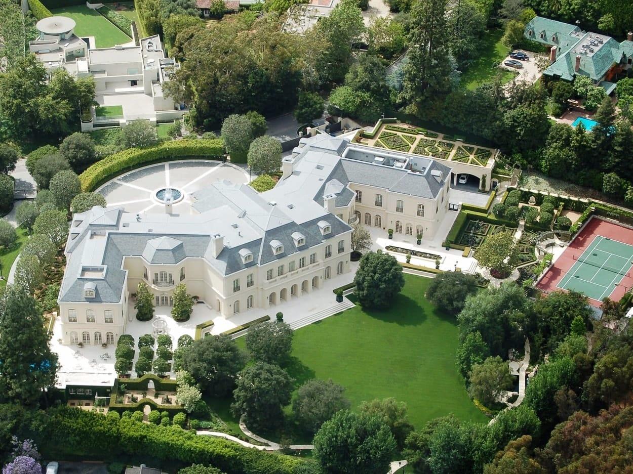 La residencia más grande de Los Ángeles se acaba de convertir en la CASA MÁS CARA actualmente a la venta en Estados Unidos ¡$200 MILLONES!