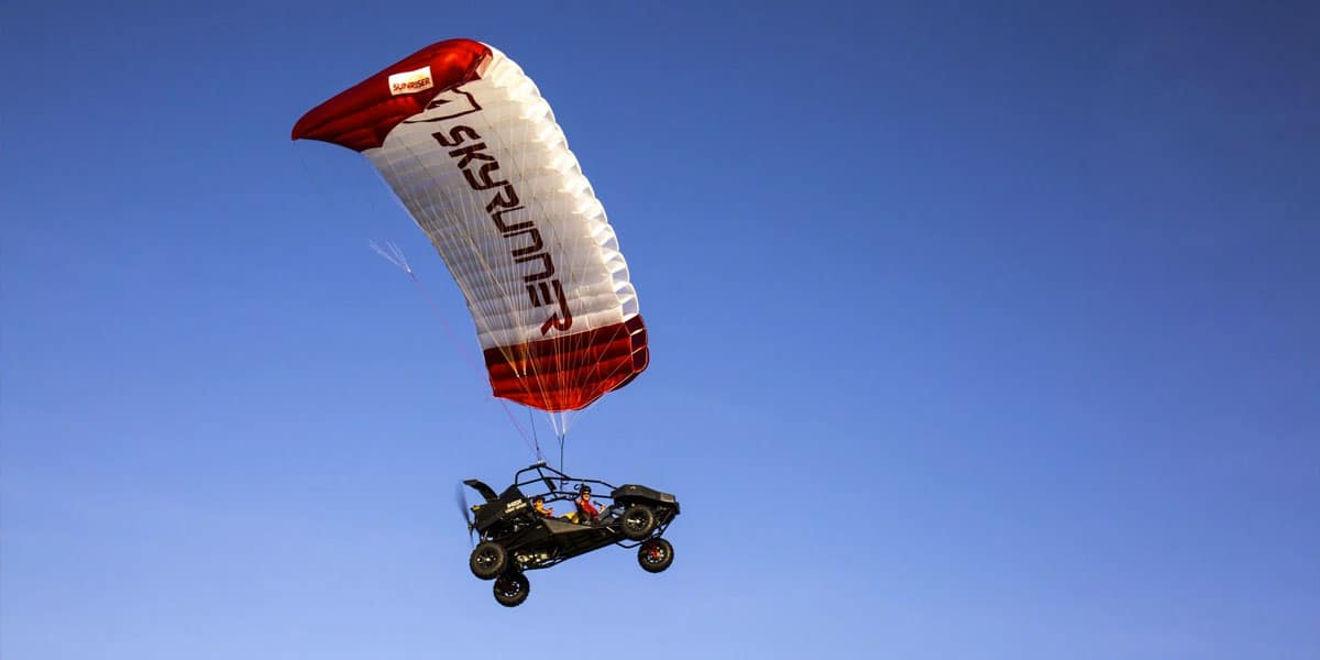 SkyRunner: El increíble todoterreno que se convierte en un aeroplano en pocos segundos