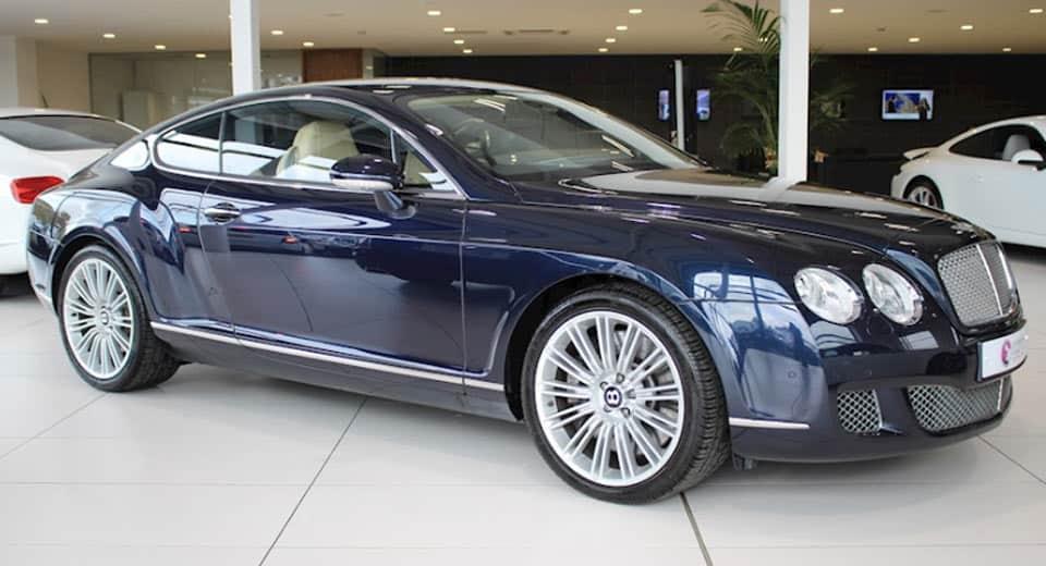 Mega exclusivo Ex-Bentley Continental W12 GT Speed de Cristiano Ronaldo Será Subastado