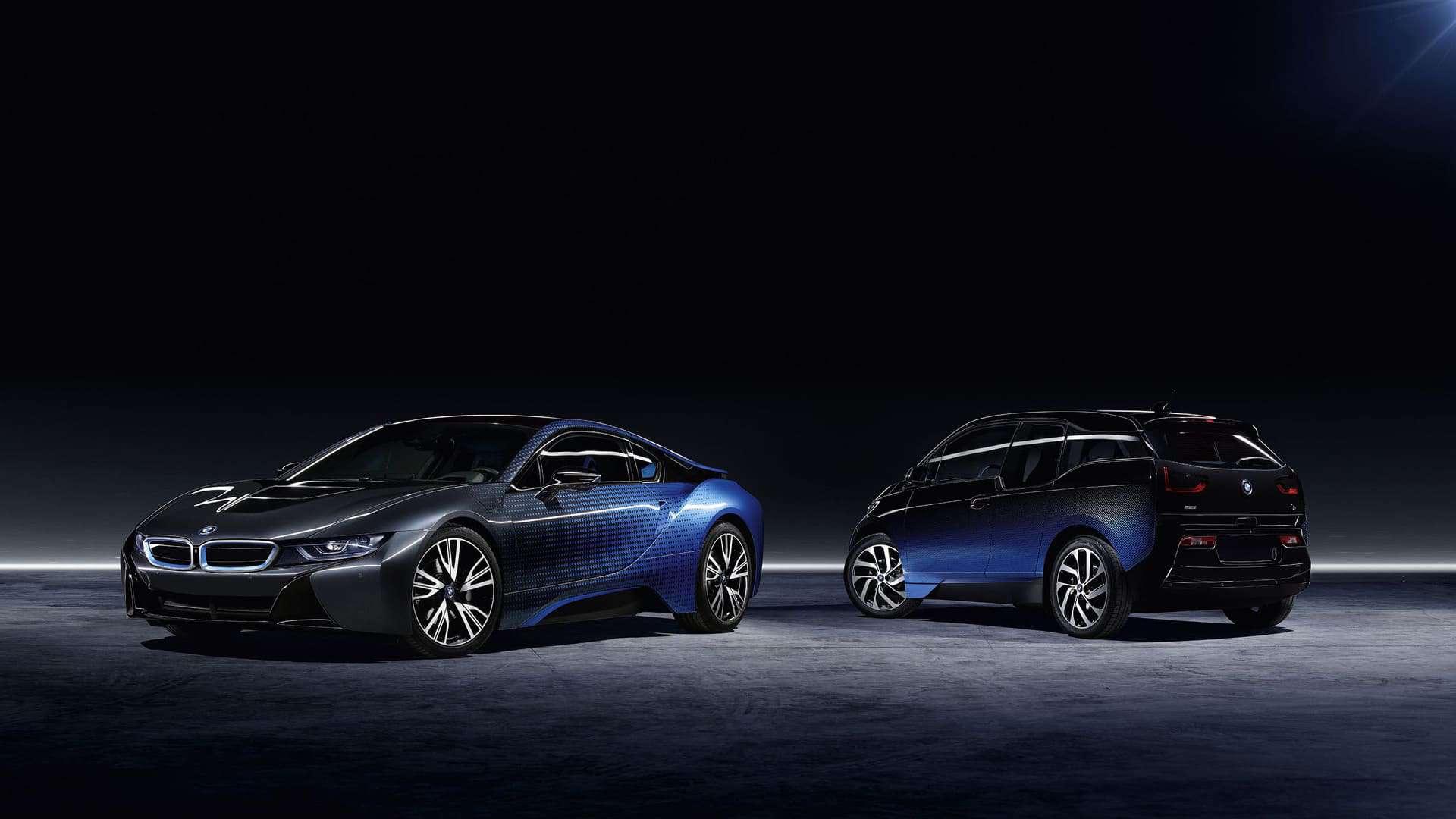 Los BMW i8 y i3 Crossfade Special Editions presentan un diseño artístico fenomenal con efectos visuales