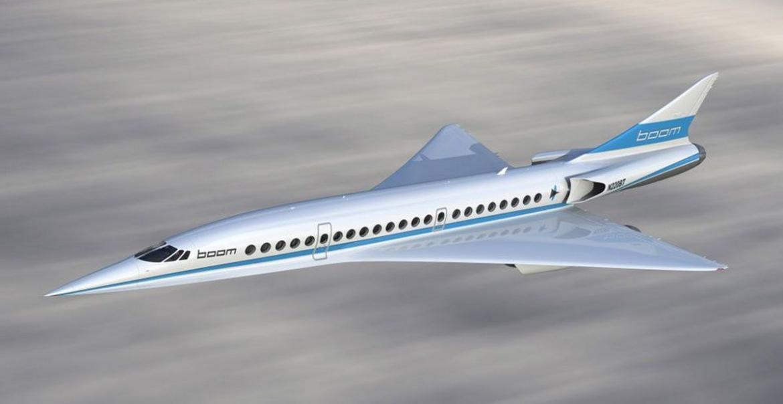 Richard Branson y Boom Technology presentan un avión SUPERSÓNICO que reducirá radicalmente el tiempo de los vuelos comerciales