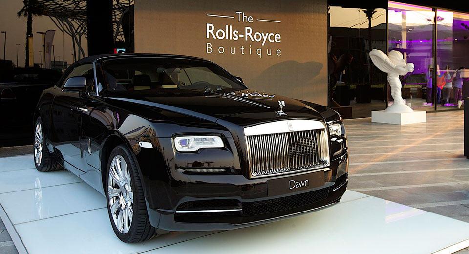 Primera 'Rolls-Royce Boutique' abre en Dubái