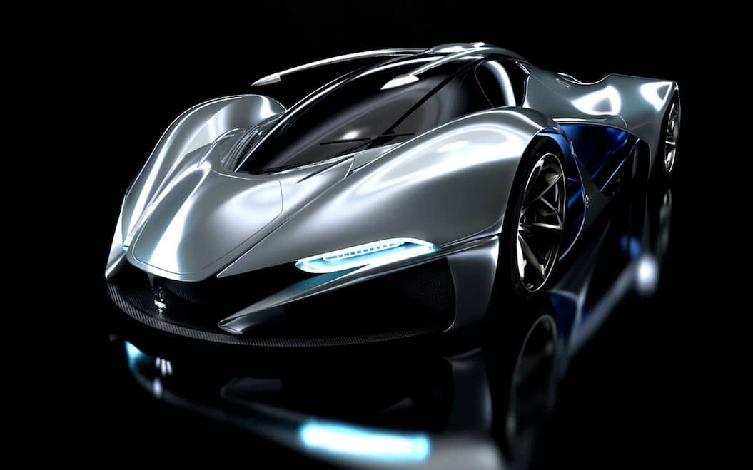 Una nave espacial extraterrestre o el coche más COOL de todos los tiempos