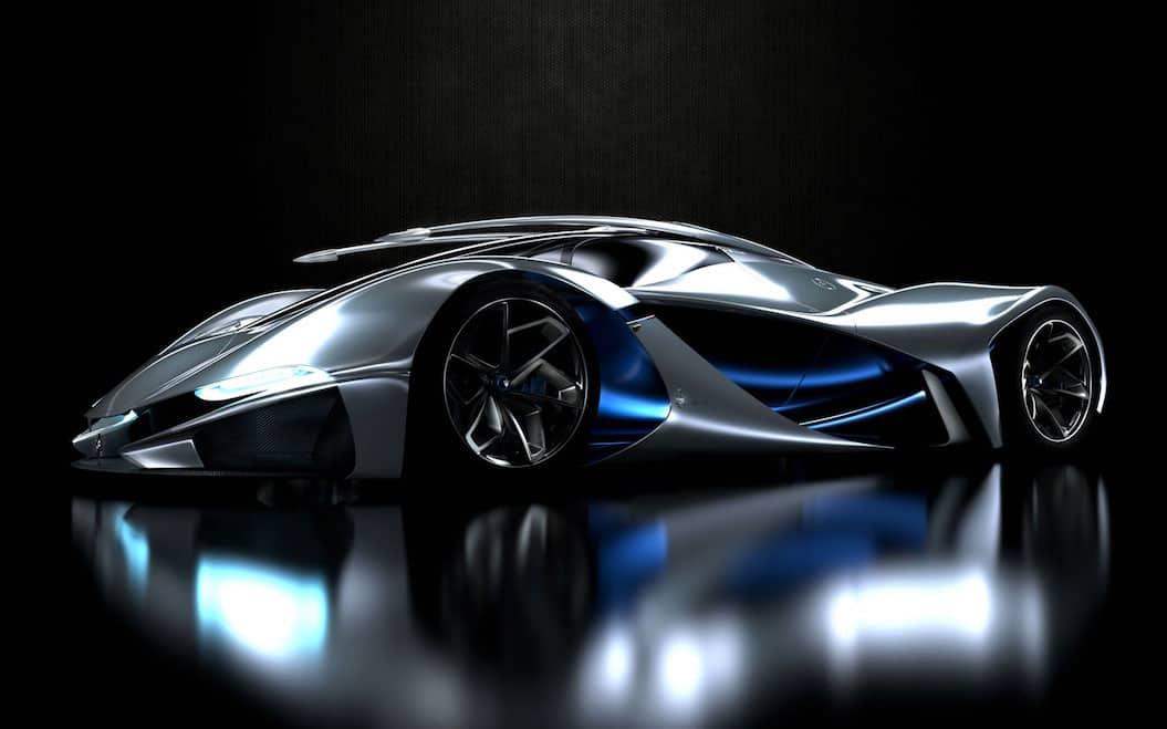 Concepto LaMaserati: Una nave espacial extraterrestre o el coche más COOL de todos los tiempos