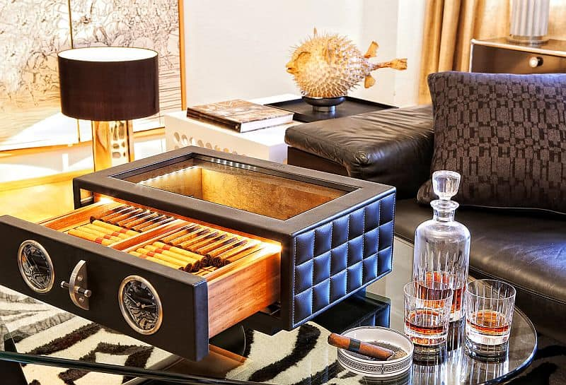 Döttling se aleja del negocio de seguridad para crear este fantástico humidor de puros