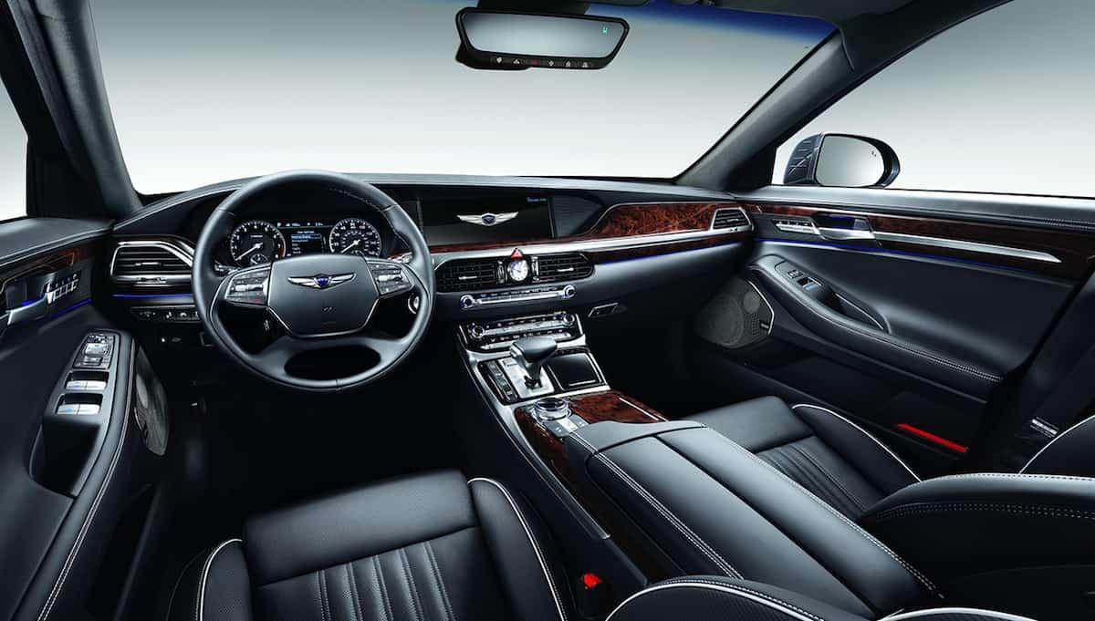Genesis G90: Este lujoso Hyundai podría competir con el BMW 7 Series y el Mercedes-Benz S-Class