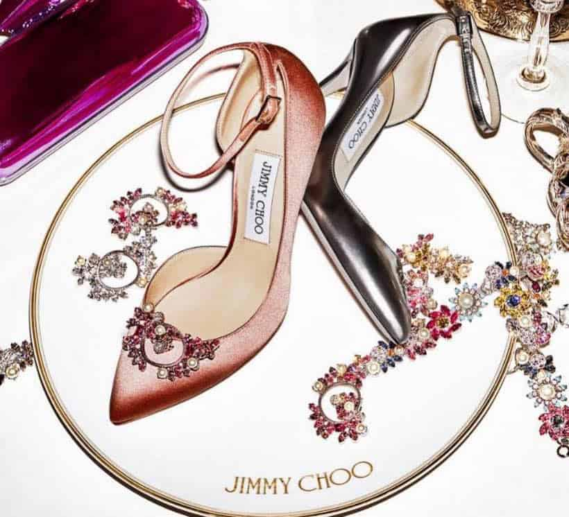"Jimmy Choo presenta la exclusiva colección ""Cruise Custom Bejewelled 2017"""