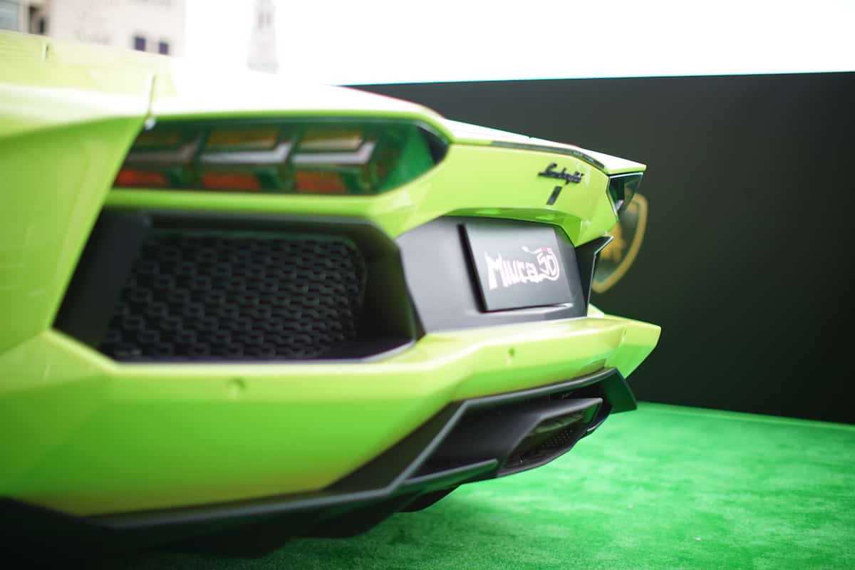 Lamborghini Aventador Miura Homage llega al mercado de Hong Kong