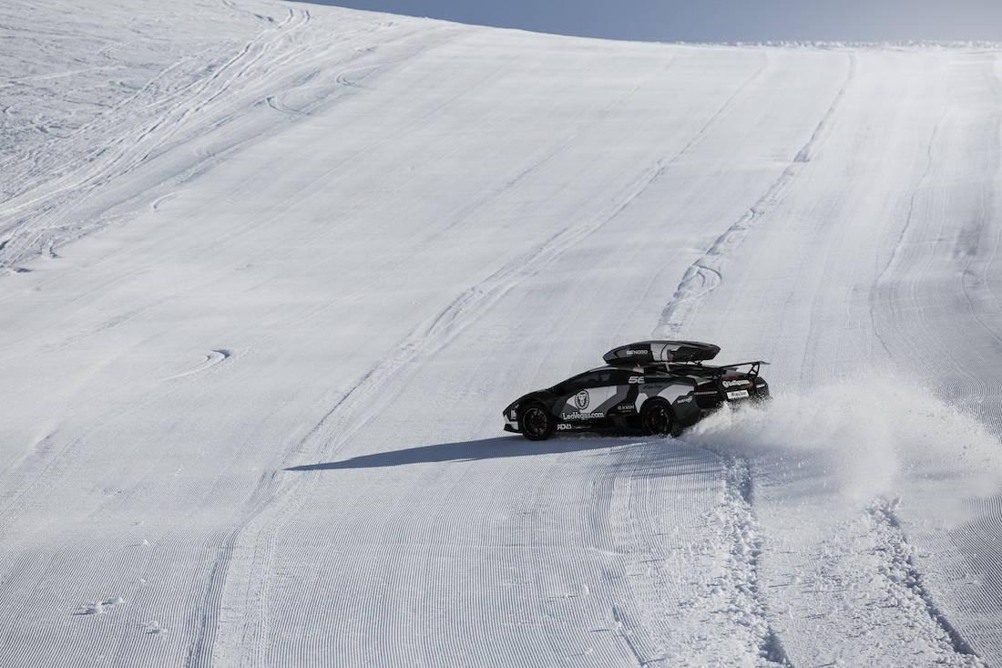 Jon Olsson presenta su proyecto más grande hasta la fecha, un Lamborghini Huracán de 800 HP para el invierno