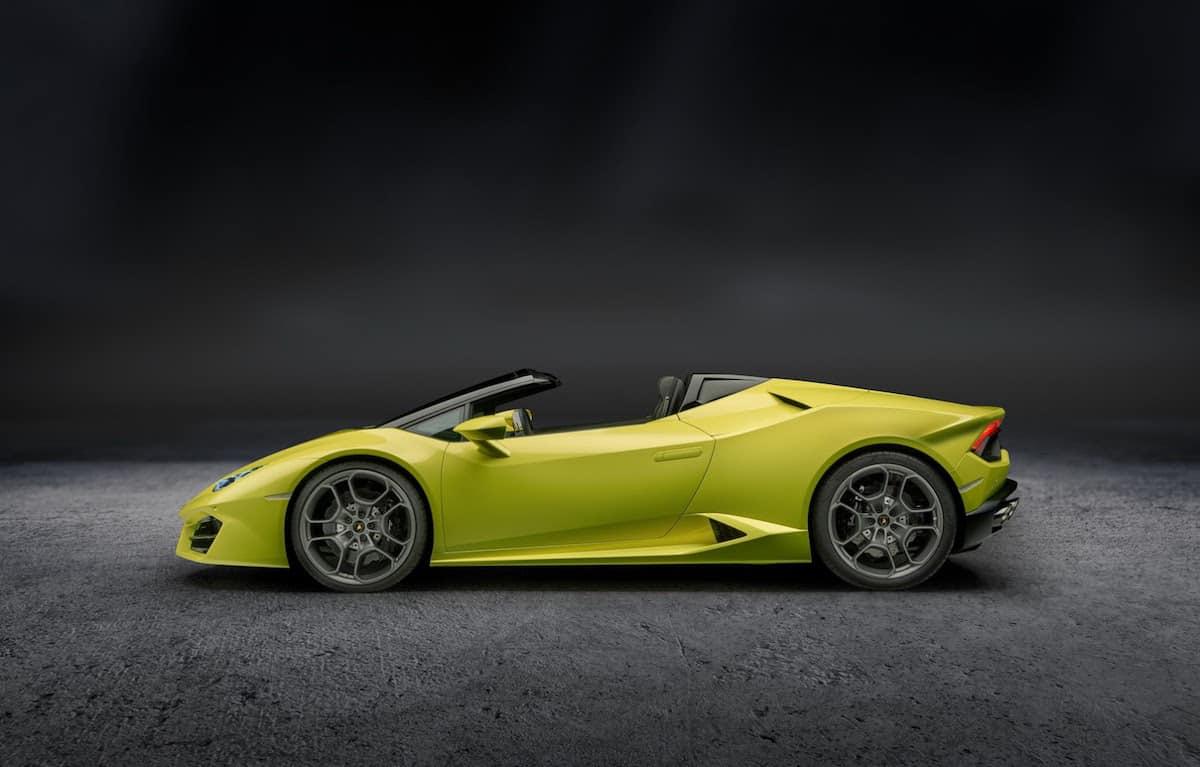 Lamborghini presenta Soft-Top en el Salón del Automóvil de Los Ángeles 2016