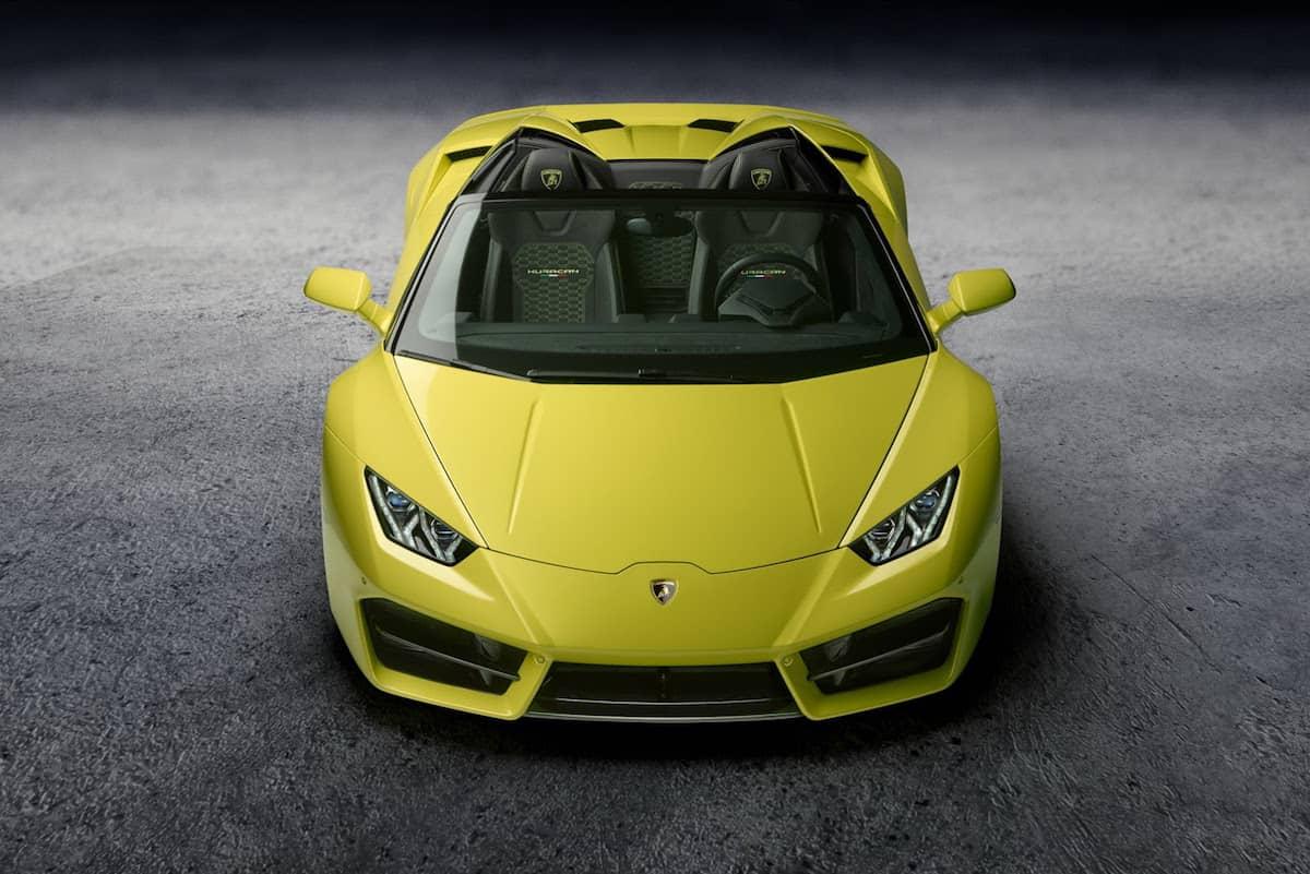 """Lamborghini presenta nuevo Huracán """"Spyder"""" Soft-Top en el Salón del Automóvil de Los Ángeles 2016"""