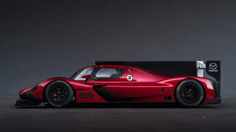 Mazda RT24-P: El deslumbrante coche de carreras presentado en el Auto Show de Los Ángeles 2016