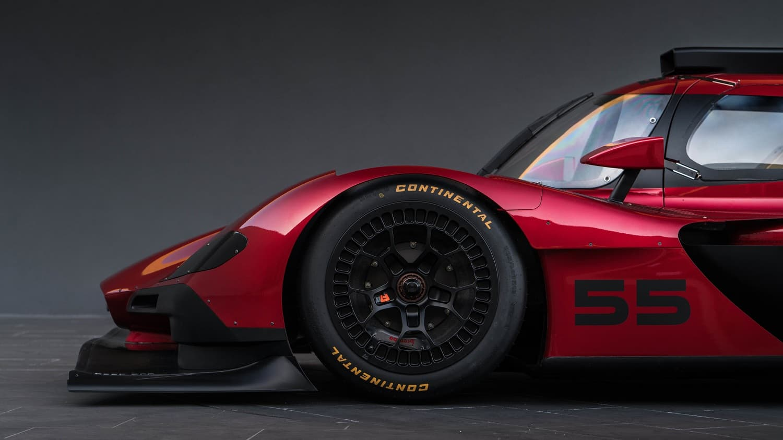 El deslumbrante coche de carreras presentado en el Auto Show de Los Ángeles 2016