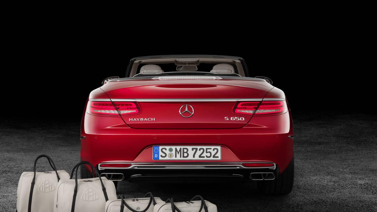 Maybach S650 Cabriolet 2017: Mercedes presenta su coche más caro hasta ahora