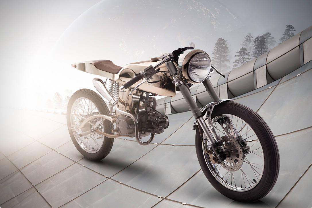"Bandit9 Motorcycles presenta la superdeportiva moto Honda ""EDEN"""