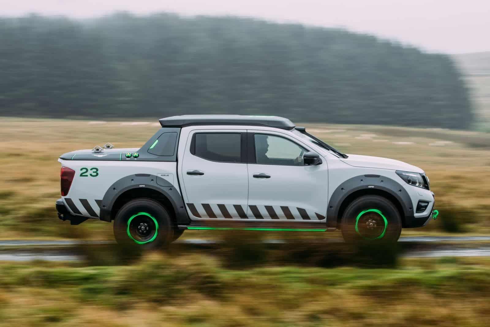 El poderoso concepto Nissan Navara EnGuard salvará tu vida - Es lo último en vehículos de rescate
