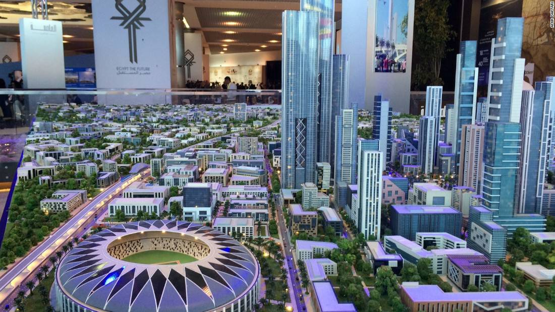 ¡Mega Proyecto! Egipto tendrá una nueva capital moderna y futurista financiada por empresas chinas