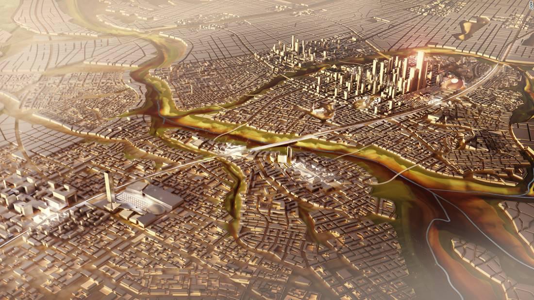 Egipto tendrá una nueva capital moderna y futurista financiada por empresas chinas