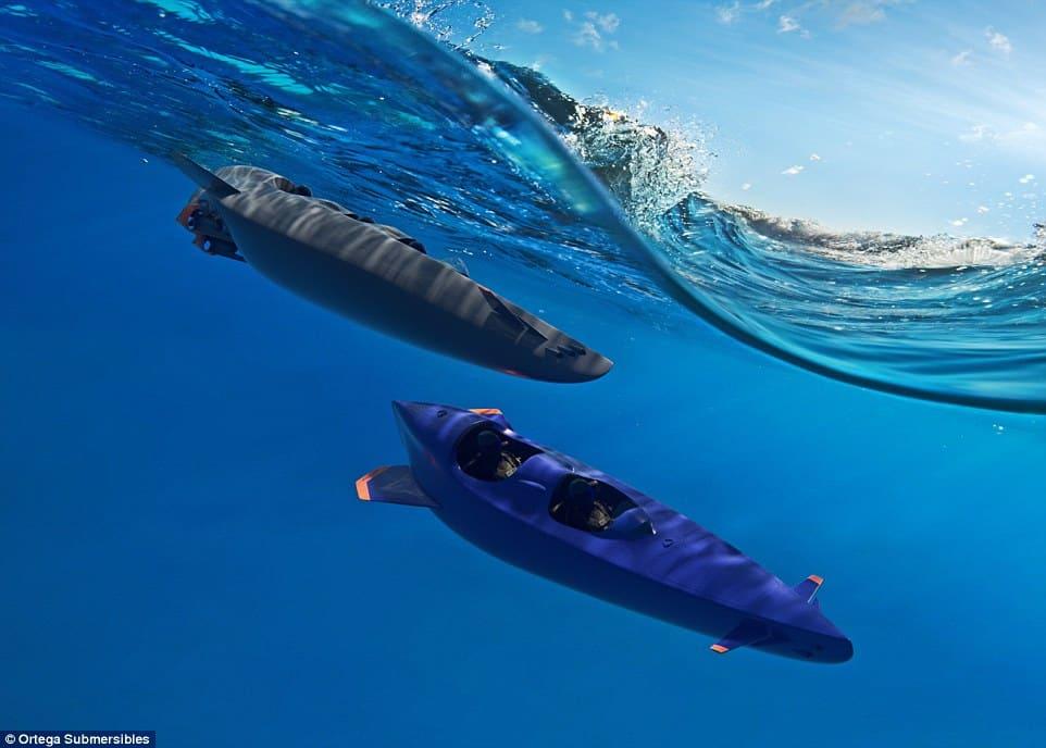 Ortega Submersible: Conoce el submarino personal MÁS RÁPIDO DEL MUNDO que te lleva a 100 metros de profundidad en pocos segundos