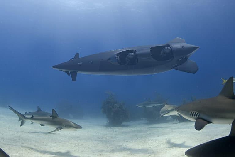 Conoce el submarino personal MÁS RÁPIDO DEL MUNDO que te lleva a 100 metros de profundidad en pocos segundos