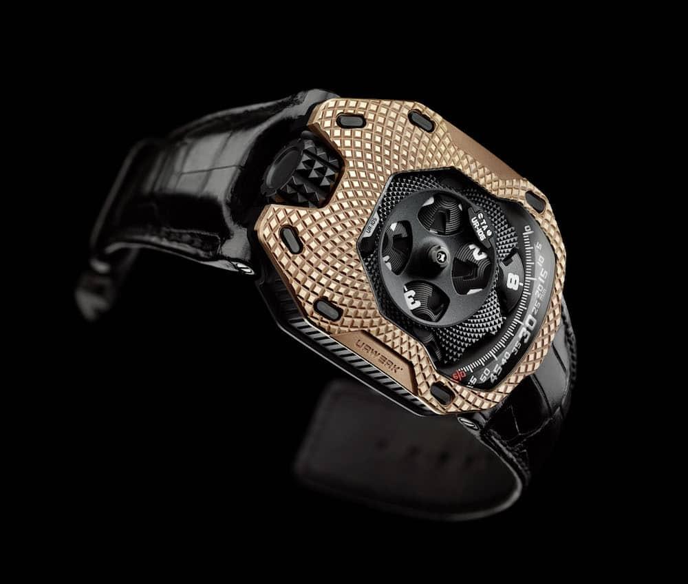 Reloj URWERK UR-105 «Raging Gold»