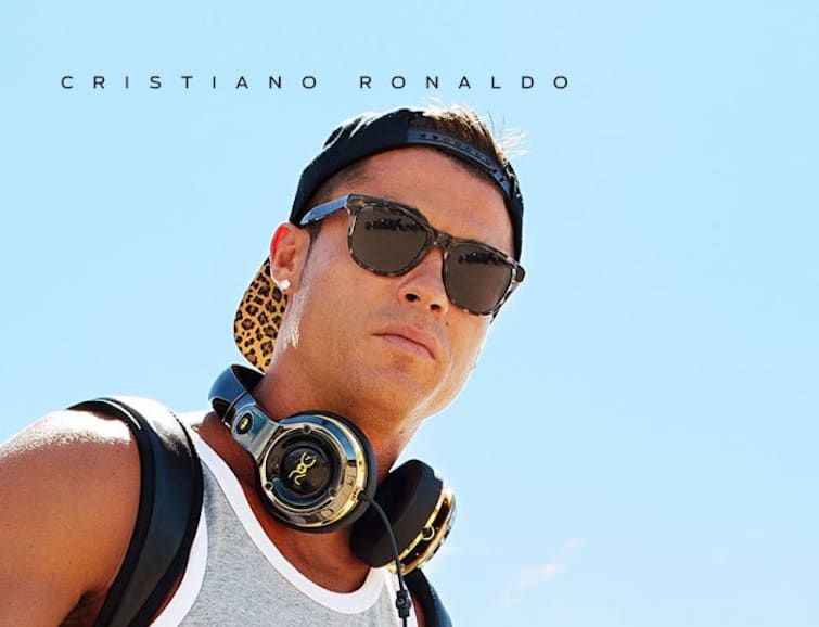 Cristiano Ronaldo se asocia con Monster para traer auriculares y altavoces ROC