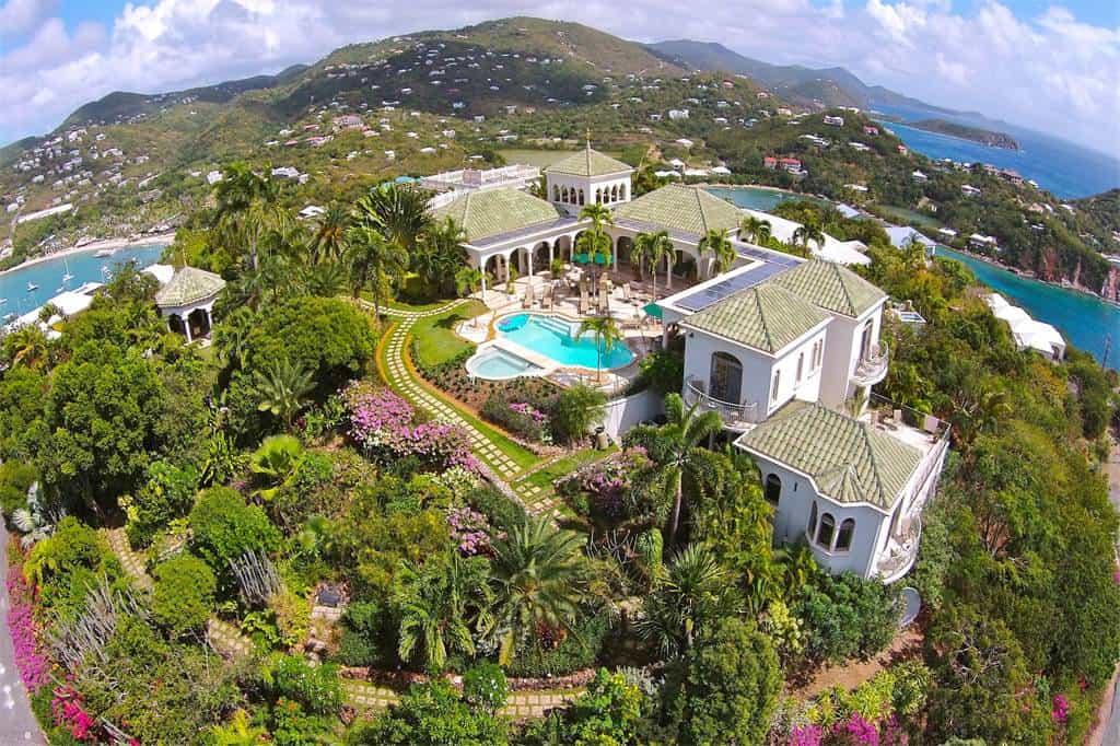 Villa Kismet: Este paraíso en las Islas Vírgenes está a la venta por $13.5 millones