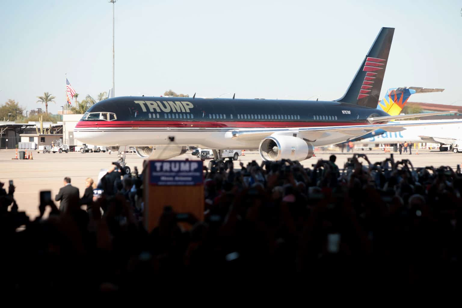 Boeing 757: Avion privado de Donald Trump