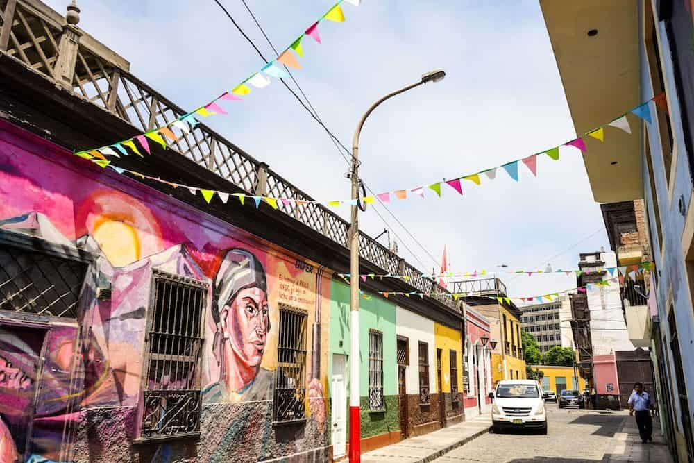 Barrios del Callao, Lima, Perú