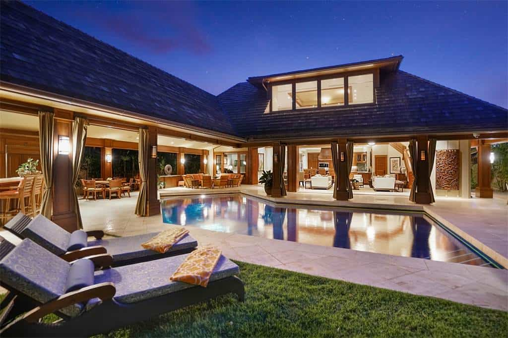 ¡INCREÍBLE! Esta maravillosa mansión en Hawái a la venta en $6.4 millones