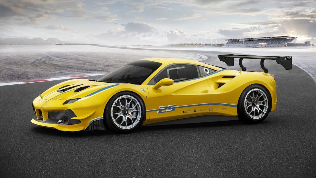 Poderoso Ferrari 488 Challenge 2017 presentado en Finali Mondiali