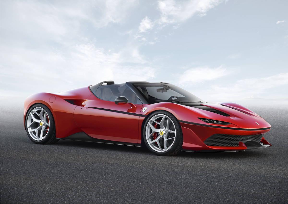 Ferrari J50: El fabricante de coches italiano transformó su 488 Spider en esta impresionante edición especial