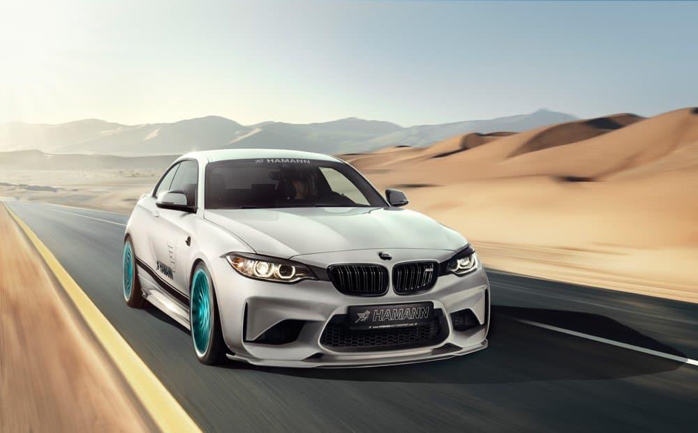 Hamann lanza paquete de actualización para el BMW M2