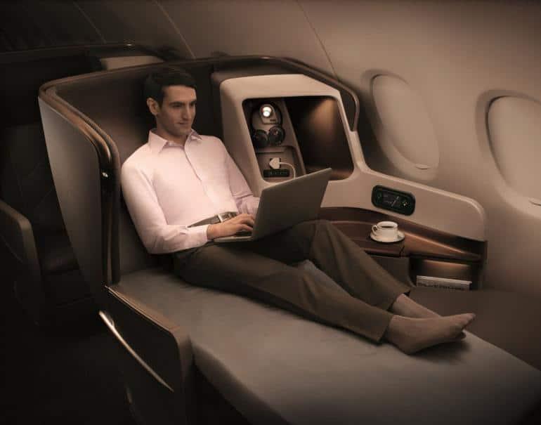 Las 9 mejores cabinas de avión Business Class del mundo