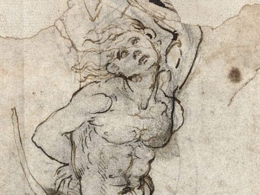 ¡Hallazgo Millonario! Descubren un extraño dibujo del artista italiano Leonardo da Vinci que ha sido valorado en $16 MILLONES