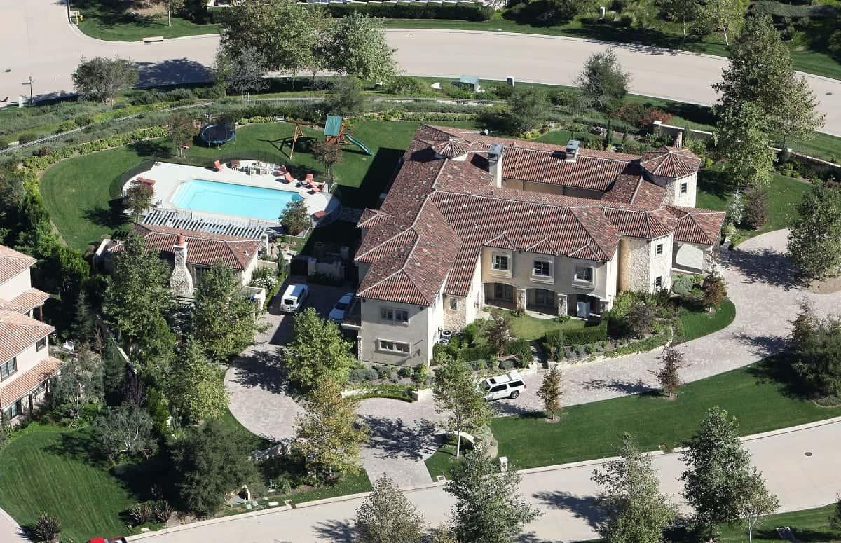 Britney Spears pone a la venta su espectacular mansión en California en $9.5 millones