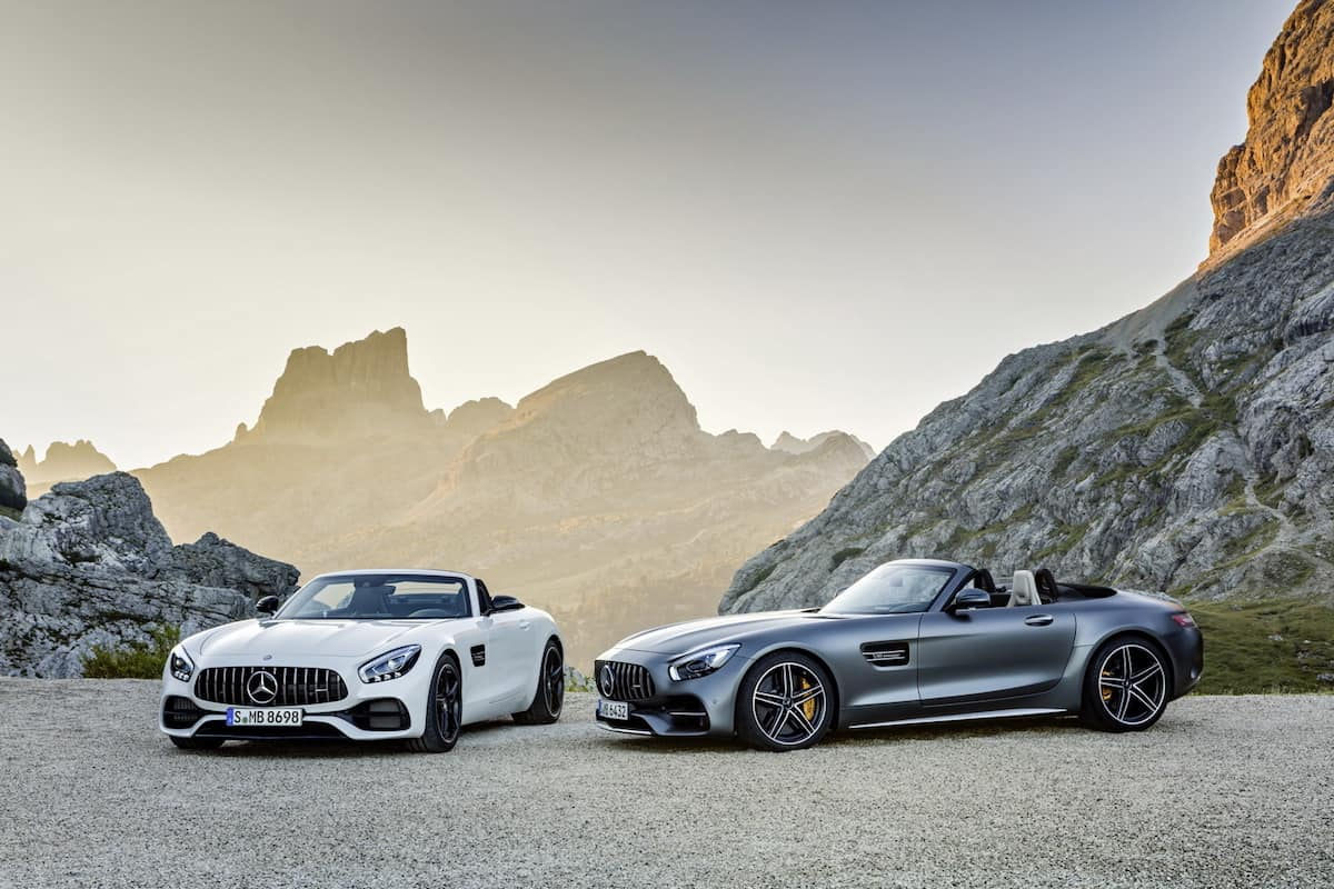 Mercedes presenta tres nuevos modelos AMG GT para su linea europea