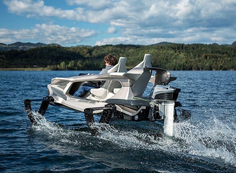 Te presentamos el Quadrofoil Q2S: Una revolucionaria embarcación personal eléctrica de edición limitada