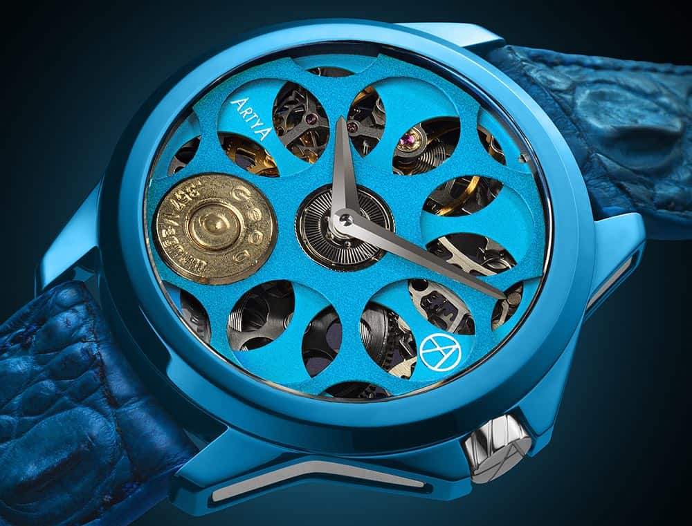 Son Of A Gun Russian Roulette Blue Blood: Un reloj por ArtyA