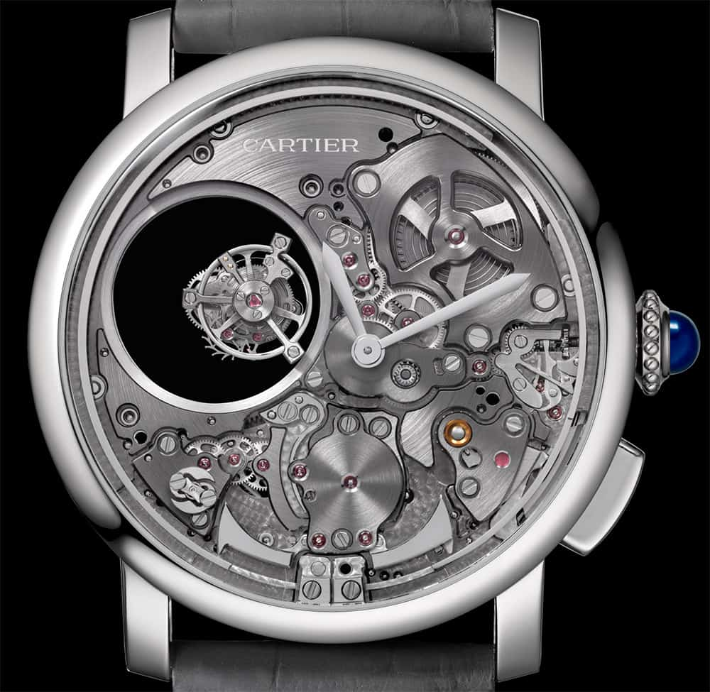 Rotonde De Cartier Minute Repeater Mysterious Double Tourbillon 2017, un reloj de Cartier