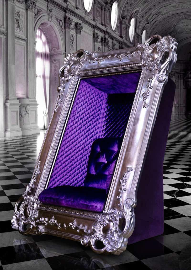 Este majestuoso sofa de Slokoski te hará sentir que en todo momento posas para un retrato