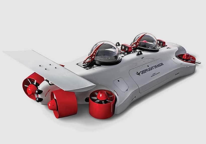 Undersea Aquahoverer: Un submarino personal de solo $1.5 millones, perfecto para explorar el mundo submarino